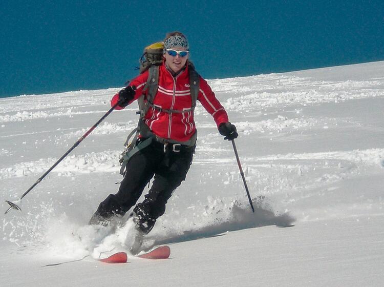 Abfahrt Auf Der Hoch Tirol