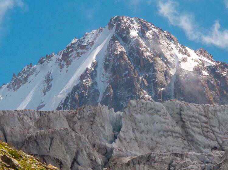 Aguille Chardonay Auf Der Tour Du Mont Blanc