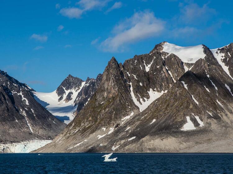 Aktisches Wandern Mit Dem Segelschiff