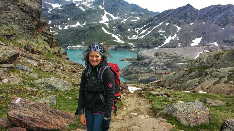 Alpenueberquerung Mit Bergwanderfuehrerin Katja Doerig