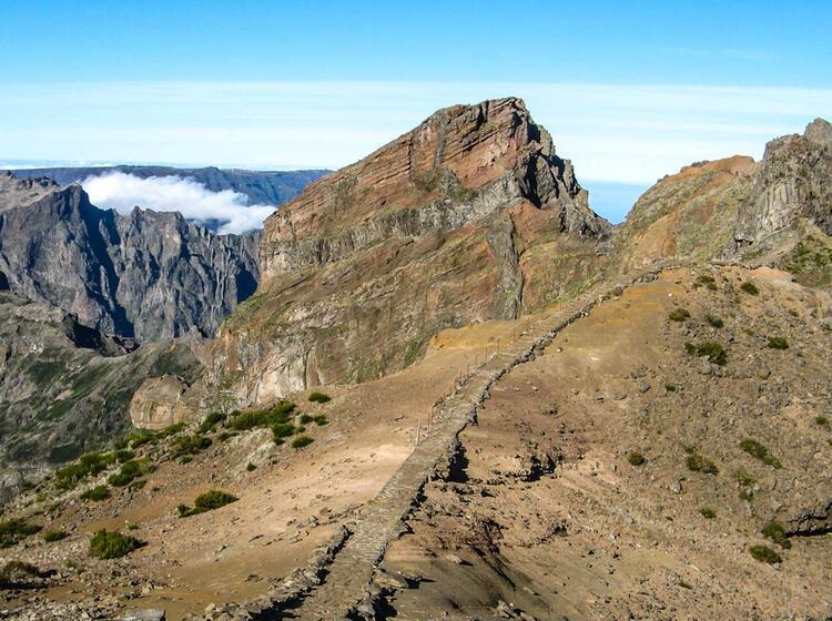 Alpines Wandern Auf Der Blumeninsel Madeira