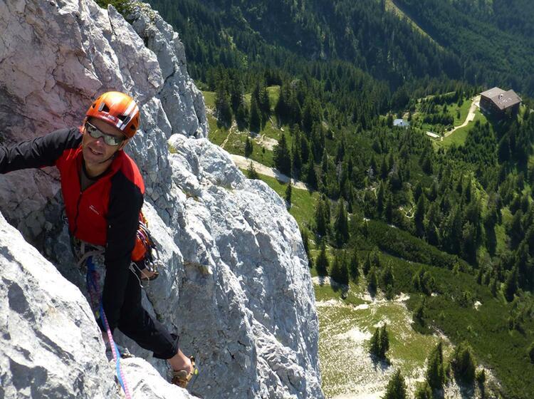 Alpinkletterkurs Mit Bergfuehrer