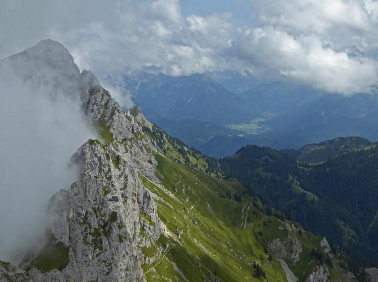 Alpinklettern Lernen Mit Bergfuehrer Im Tannheimer Tal