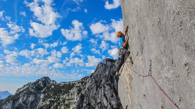 Alpinklettern Mit Bergfuehrer Lernen