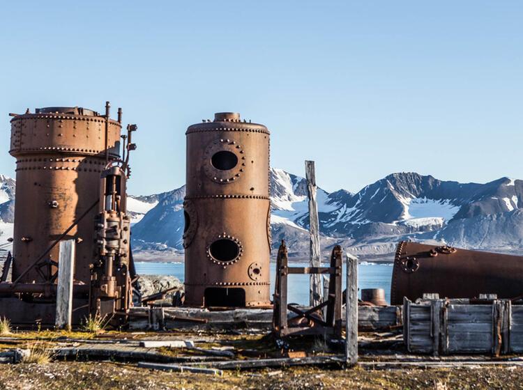 Alte Geschichte Auf Spitzbergen