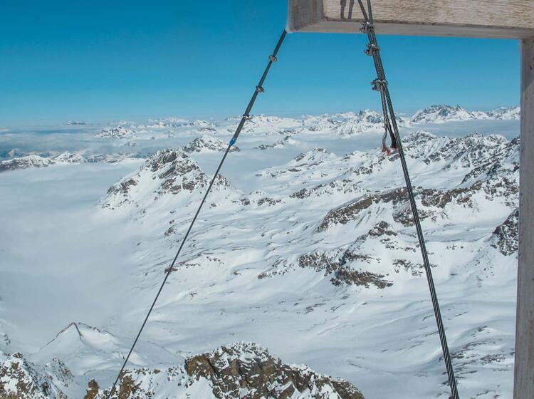 Am Gipfel Des Piz Buin Auf Skitour Und Schneeschuh Tour Mit Bergfu Hrer