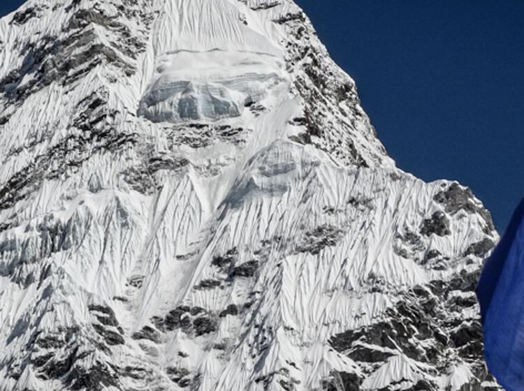 Ama Dablam Expedition Oberer Aufstiegsbereich