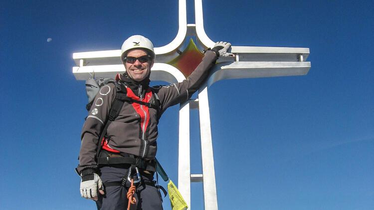 Andreas Schneider Ist Bergwanderfuehrer An Der Zugspitze