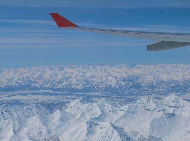 Anflug Nach Kamtchatka