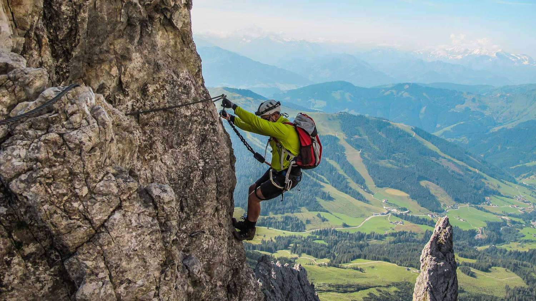 Klettersteig Fränkische Schweiz : Klettersteig touren mit bergführer in den alpen