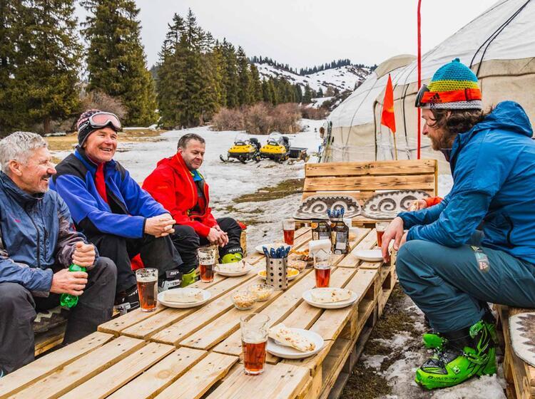 Apres Ski In Kirgistan
