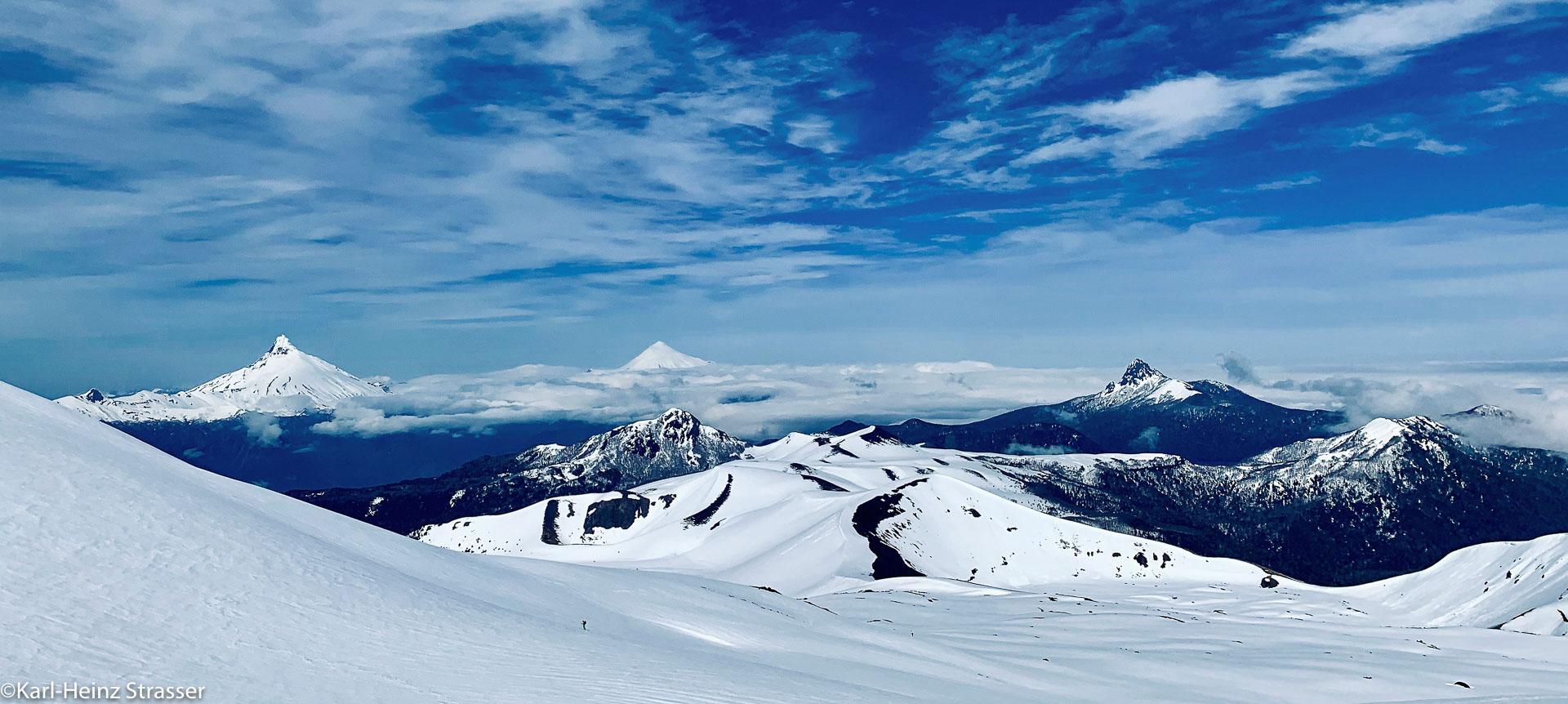 Chilenische Vulkangipfel