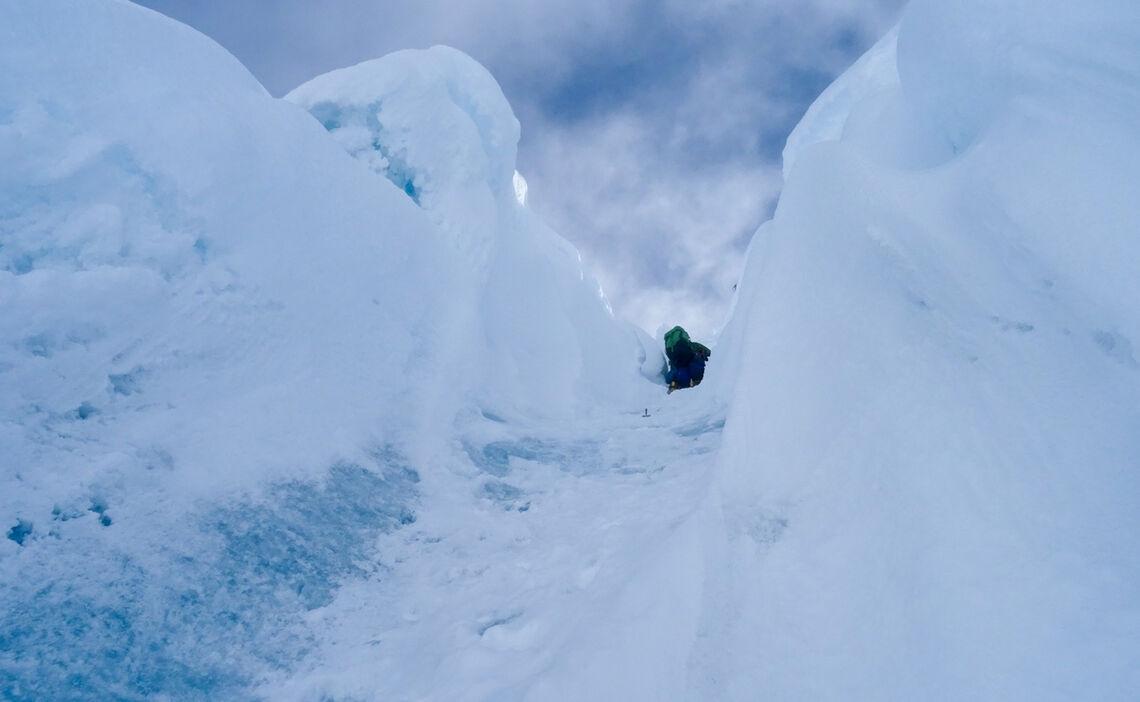 Aufstieg Zum Gipfel Alpamayo Expedition 8