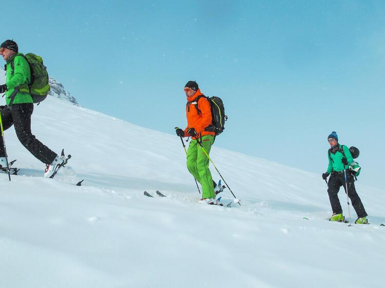 Aufstieg Zum Silvrettahorn