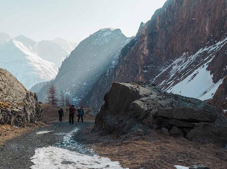 Aufstieg Zur Johannishu Tte Zum Gefu Hrten Skitouren Wochenende