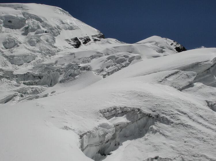 Aufstiegsroute Zum Lager Ii Himlung