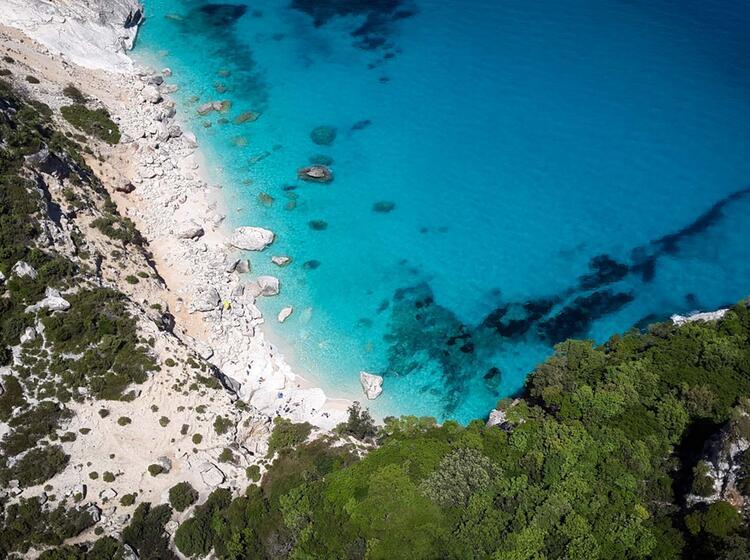 Ausblick Auf Die Bucht Segeln Klettern Auf Sardinien 2