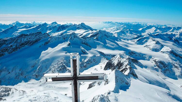 Ausblick Vom Gipfel Des Grossvenediger