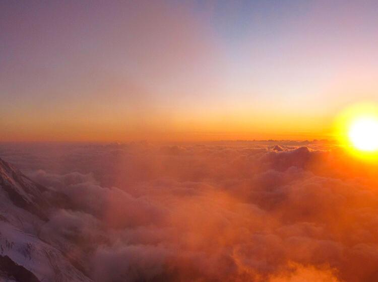 Ausblick Von Der Cosmique Huette