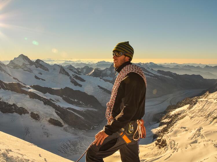 Ausblick Von Der Jungfrau