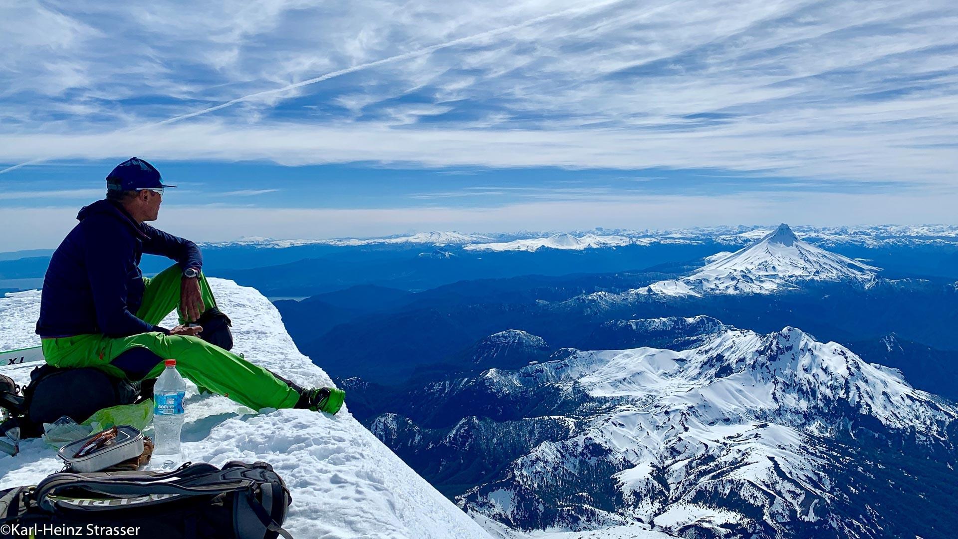 Traumhafter Ausblick über das Schweizer Land in Chile