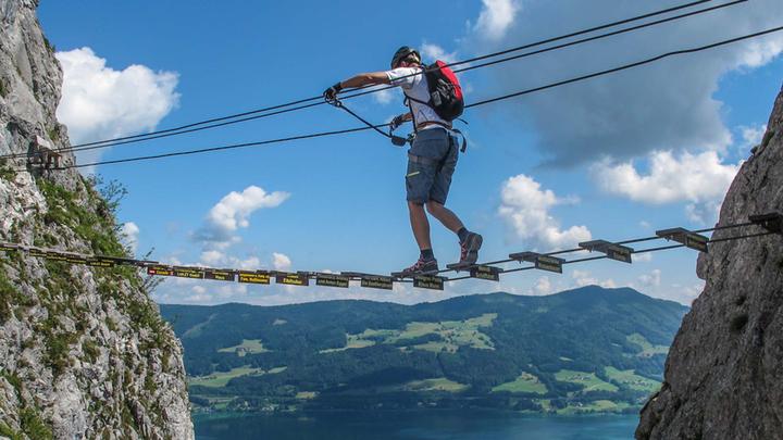 Klettersteigkurs : Klettersteigkurse für einsteiger by petzl