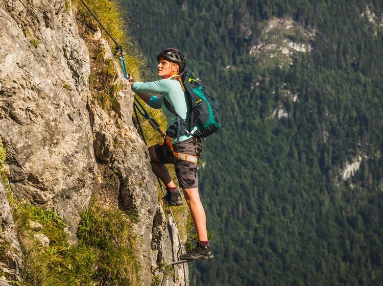 Berfuehrer Fuer Den Klettersteig Am Gruenstein
