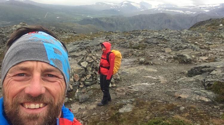 Bergfu Hrer Ju Rgen Brandhuber In Norwegen