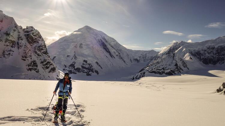 Bergfu Hrer Karpinski Unterwegs Auf Expedition