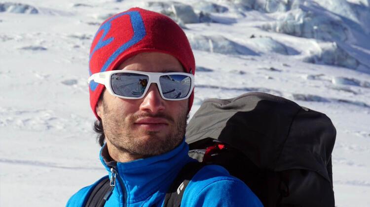 Bergfu Hrer Marius Klapfer Auf Dem Weg Zum Mont Blanc