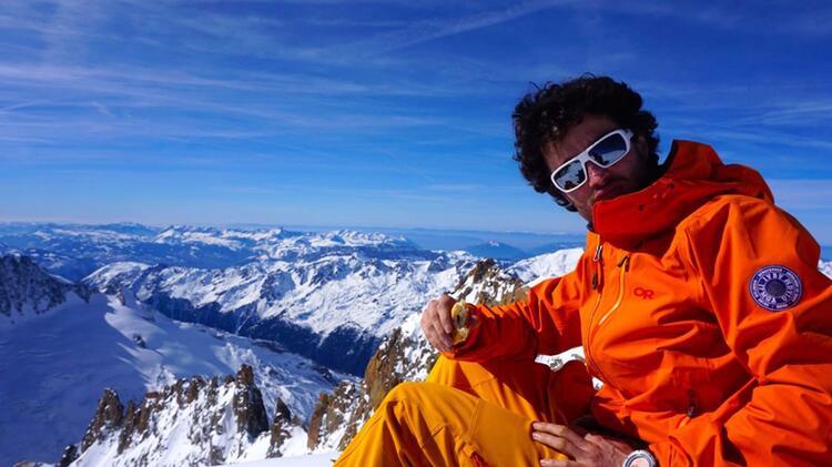 Bergfu Hrer Marius Klapfer In Chamonix