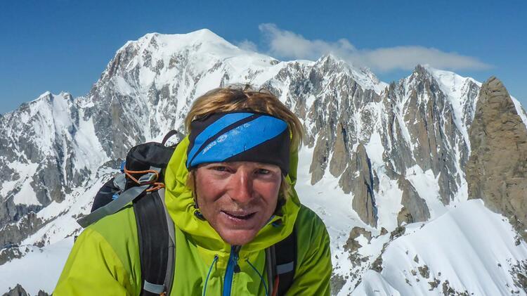 Bergfuehrer Alexander Kleinheinz Am Mont Blanc