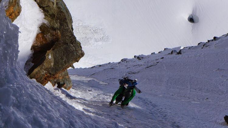 Bergfuehrer Ewald Auf Skitour Am Grossglockner