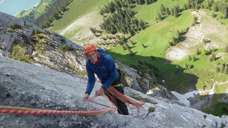Bergfuehrer Florian An Der Watzmann Ostwand