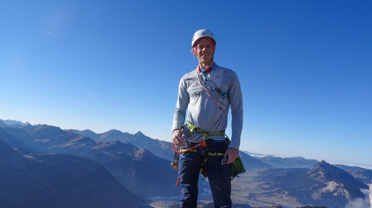 Bergfuehrer Florian Auf Dem Watzmann