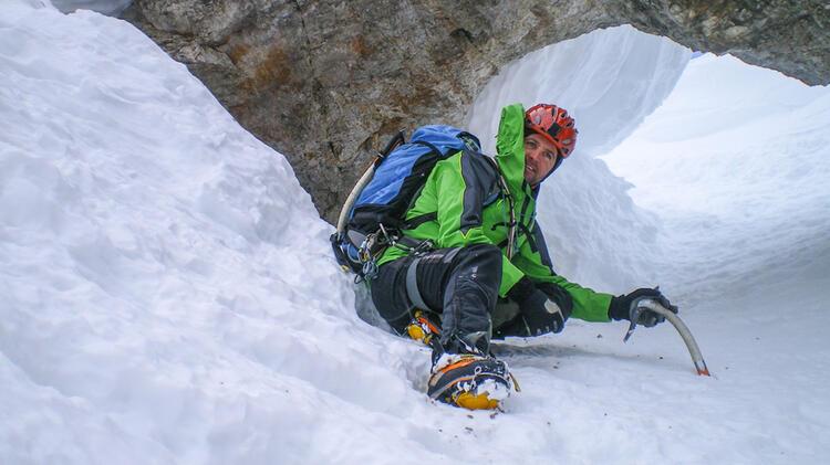 Bergfuehrer Hofmann Im Hoellental An Der Zugspitze
