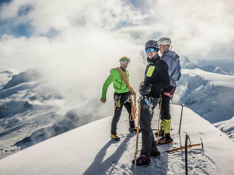 Bergfuehrer In Zermatt