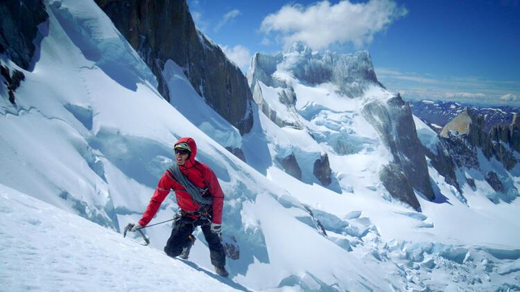 Bergfuehrer Korbinian Am Mont Blanc