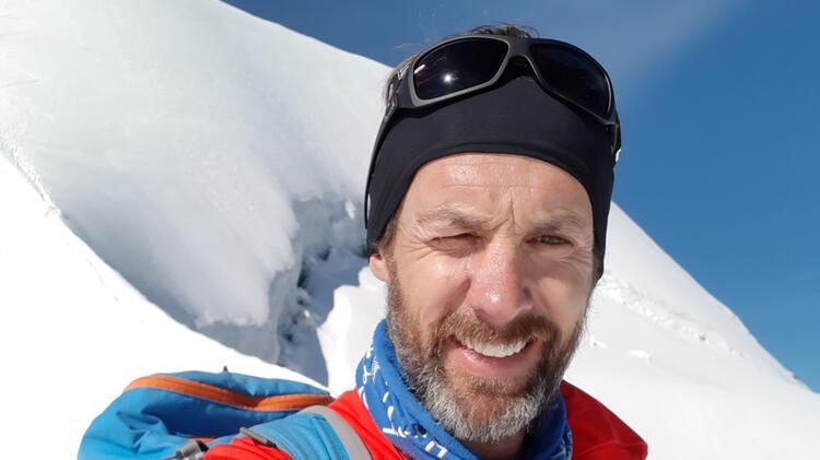 Bergfuehrer Michael Aigner Am Berner Dreigestirn