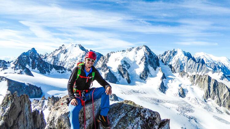 Bergfuehrer Oliver Rohrmoser Begleitet Dich Auf Den Mont Blanc