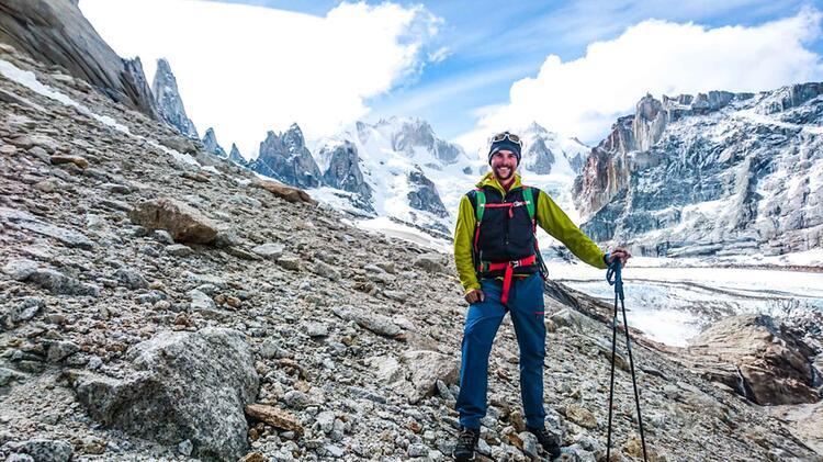 Bergfuehrer Oliver Rohrmoser Expedition Suedamerika