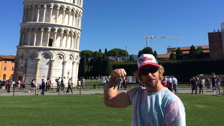 Bergfuehrer Oliver Specht In Pisa