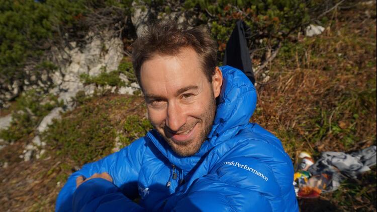 Bergfuehrer Roland Buchroithner Am Klettersteigkurs Stubai
