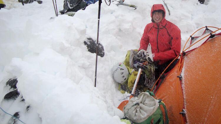 Bergfuehrer Schmidtner Beim Skihochtourenkurs