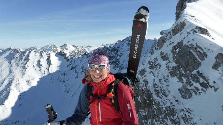 Bergfuehrerin Bianca Auf Der Venter Runde