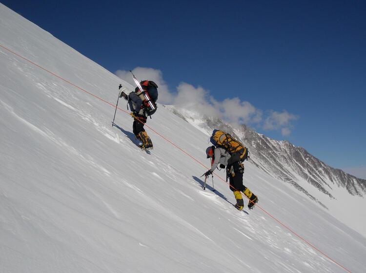 Bergsteigen Am Fixseil Am Mount Vinson Ale 41251218592