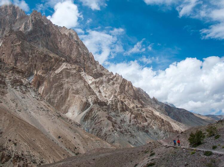 Bergsteigen In Tibet Ladakh