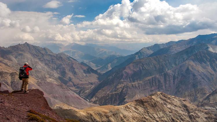 Bergsteigen Und Trekken In Ladakh
