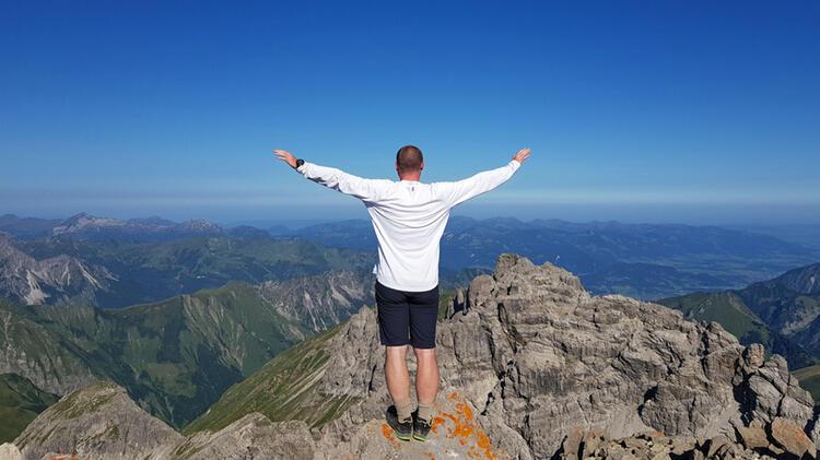 Bergwanderfuehrer Achim Heib Auf Dem Karwendel Hoehenweg