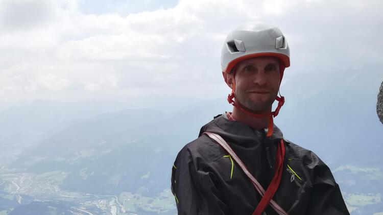 Bergwanderfuehrer Benjamin Gruber Am Koenigsjodler Klettersteig
